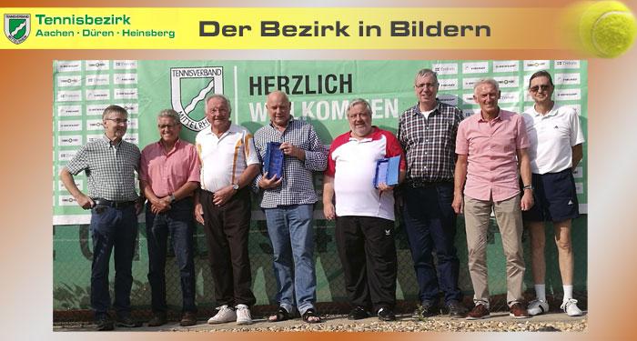 Bezirkspokal - H60 Sieger TC BG Wassenberg und Zweiter TC Siersdorf