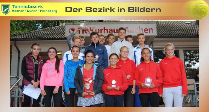 Bezirkspokal - Tennisbezirk ADH Pokalfinale 2017 Junioren u Juniorinnen